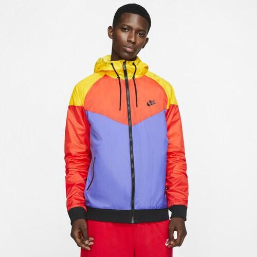 (取寄)ナイキ メンズ Amplify ウインドランナー ジャケット Nike Men's Amplify Windrunner Jacket Light Crimson Rush Violet
