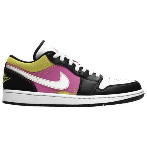 (取寄)ジョーダン メンズ シューズ AJ 1 ロー SE Jordan Men's Shoes AJ 1 Low SE Black White Active Fucia Cyber