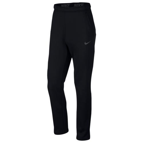 (取寄)ナイキ メンズ サーマ フリース パンツ Nike Men's Therma Fleece Pants Black Metallic Hematite