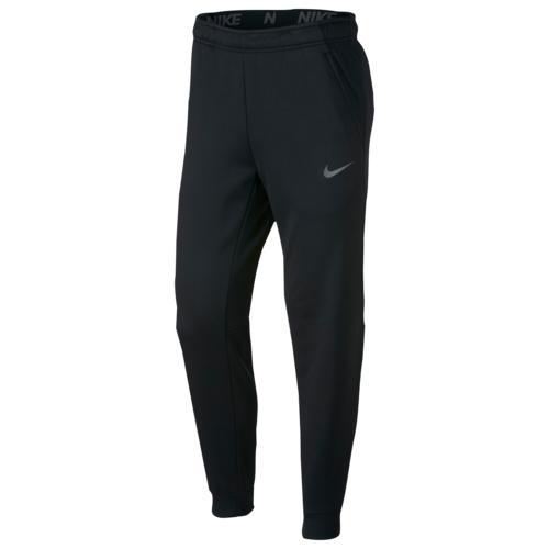 (取寄)ナイキ メンズ サーマ フリース テーパード パンツ Nike Men's Therma Fleece Tapered Pants Black Metallic Hematite