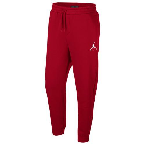 (取寄)ジョーダン メンズ ジャンプマン エア フリース パンツ Jordan Men's Jumpman Air Fleece Pants Gym Red White