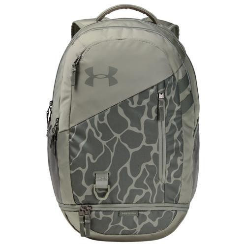 【クーポンで最大2000円OFF】(取寄)アンダーアーマー ハッスル バックパック 4.0 Underarmour Hustle Backpack 4.0 Gravity Green Surface Gray
