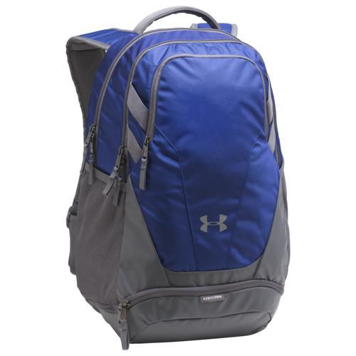 (取寄)アンダーアーマー チーム ハッスル 3.0 バックパック Underarmour Team Hustle 3.0 Backpack Royal Grey Grey