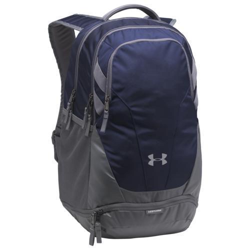 (取寄)アンダーアーマー チーム ハッスル 3.0 バックパック Underarmour Team Hustle 3.0 Backpack Midnight Navy Grey Grey