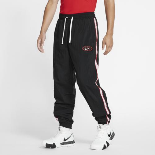 (取寄)ナイキ メンズ スロウバック ウーブン パンツ Nike Men's Throwback Woven Pants Black Black White