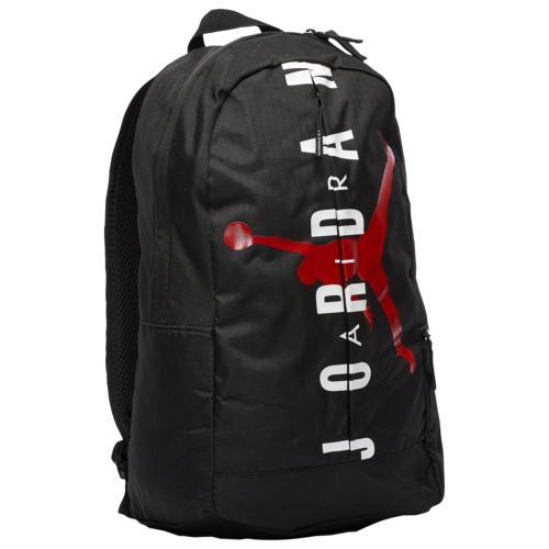 (取寄)ジョーダン スプリット バックパック Jordan Split Backpack Black White Gym Red