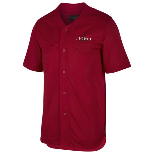 (取寄)ジョーダン メンズ ジャンプマン メッシュ ジャージー Jordan Men's Jumpman Mesh Jersey Gym Red Black