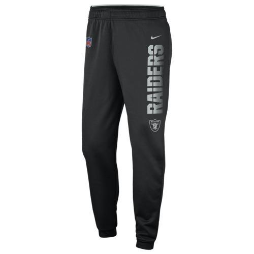 (取寄)ナイキ メンズ NFL サーマ パンツ オークランド レイダーズ Nike Men's NFL Therma Pants オークランド レイダーズ Black