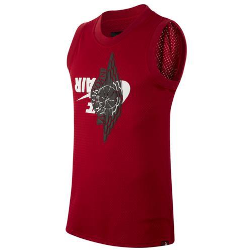 (取寄)ジョーダン メンズ ジャンプマン クラシック ジャージー Jordan Men's Jumpman Classics Jersey Gym Red