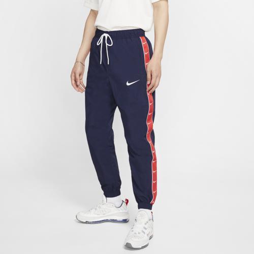 (取寄)ナイキ メンズ スウッシュ ウーブン パンツ Nike Men's Swoosh Woven Pants Obsidian University Red