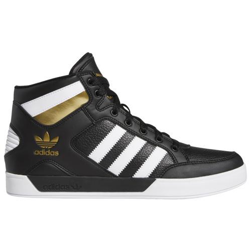 (取寄)アディダス メンズ シューズ オリジナルス ハードコート Men's Shoes adidas Originals Hardcourt Black White Gold Metallic