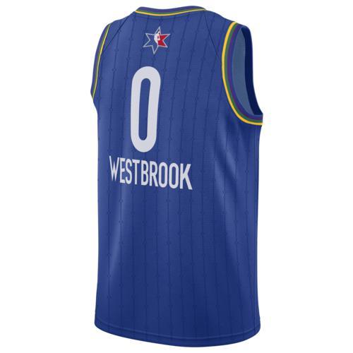 (取寄)ジョーダン メンズ NBA オールスター ゲーム スウィングマン ジャージー オクラホマ シティ サンダー Jordan Men's NBA All-Star Game Swingman Jersey オクラホマ シティ サンダー Blue