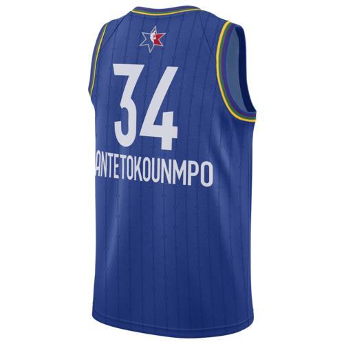 (取寄)ジョーダン メンズ NBA オールスター ゲーム スウィングマン ジャージー ミルウォーキー バックス Jordan Men's NBA All-Star Game Swingman Jersey ミルウォーキー バックス Blue