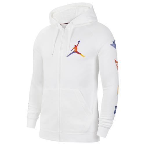 (取寄)ジョーダン メンズ ライバルリー フルジップ フーディ Jordan Men's Rivals Full-Zip Hoodie White