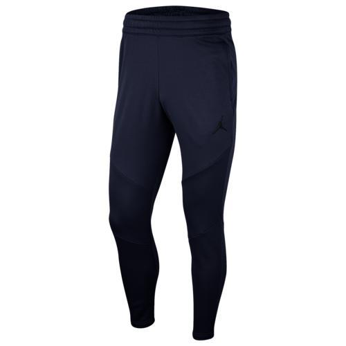(取寄)ジョーダン メンズ 23 アルファ サーマ フリース パンツ Jordan Men's 23 Alpha Therma Fleece Pants College Navy Black