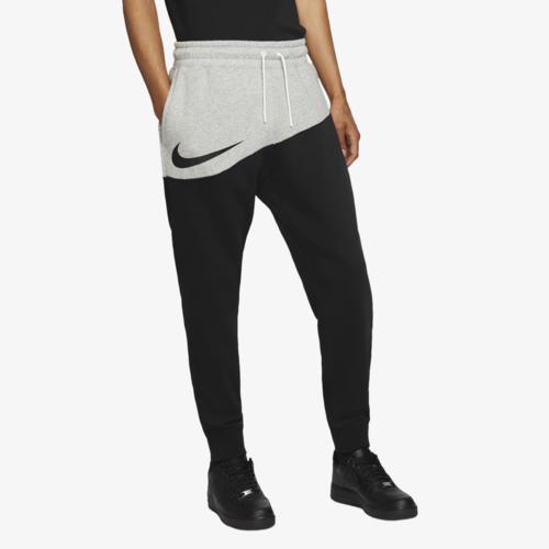 【クーポンで最大2000円OFF】(取寄)ナイキ メンズ スウッシュ パンツ Nike Men's Swoosh Pants Dark Grey Heather Black