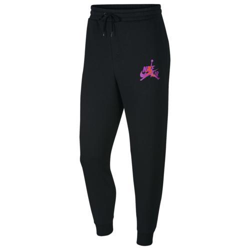 (取寄)ジョーダン メンズ ジャンプマン クラシック パンツ Jordan Men's Jumpman Classics Pants Black Vivid Purple Infrared 23 Total Orange