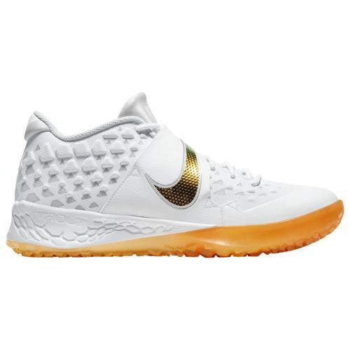 (取寄)ナイキ メンズ シューズ フォース ズーム トラウト 6 ターフ Nike Men's Shoes Force Zoom Trout 6 Turf White Magma Orange Laser Orange