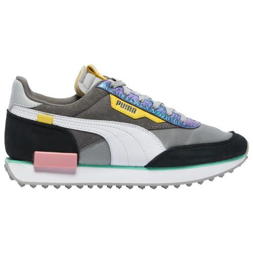 (取寄)プーマ レディース シューズ プーマ フューチャー ライダー Women's Shoes PUMA Future Rider Gray Violet Black