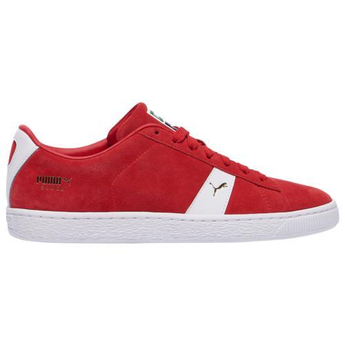 (取寄)プーマ メンズ シューズ プーマ スエード ニュー クラシック Men's Shoes PUMA Suede New Classic Red White