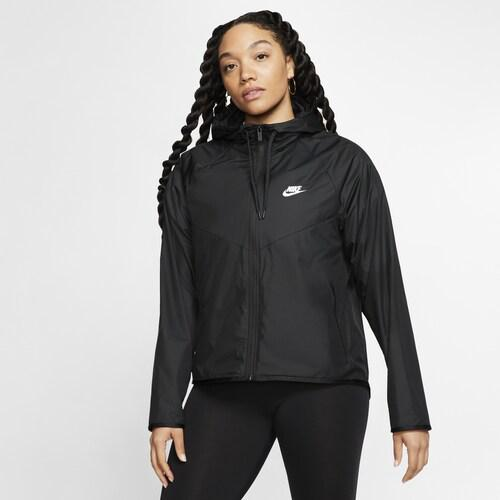 (取寄)ナイキ レディース ウインドランナー ジャケット Nike Women's Windrunner Jacket Black Black
