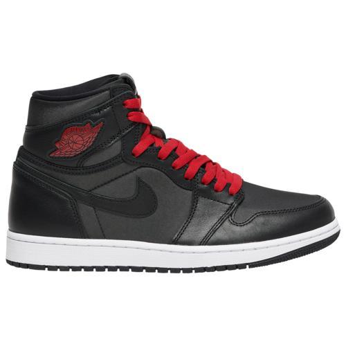 (取寄)ジョーダン メンズ シューズ レトロ 1 ハイ オリジナル Jordan Men's Shoes Retro 1 High OG Black Metallic Silver Gym Red White