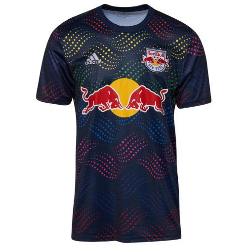 (取寄)アディダス メンズ MLS プレ マッチ ジャージー レッド ブル ニュー ヨーク Men's adidas MLS Pre Match Jersey レッド ブル ニュー ヨーク Multi
