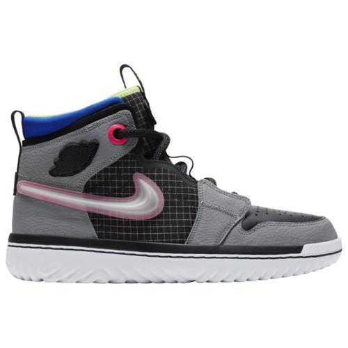 (取寄)ジョーダン メンズ シューズ エア 1 リアクト Jordan Men's Shoes Air 1 React Black Green Gray Multi