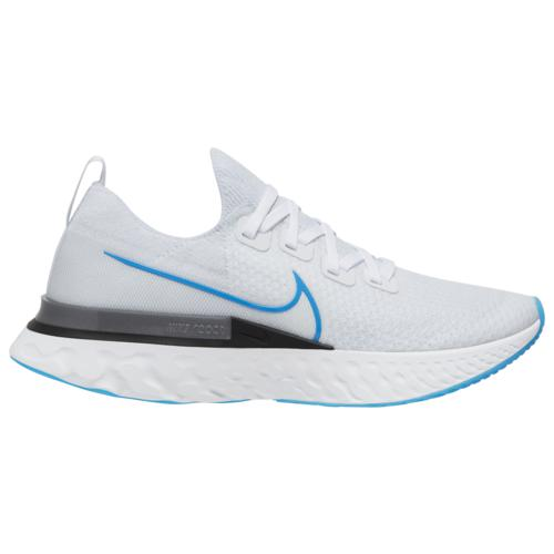 (取寄)ナイキ メンズ シューズ リアクト インフィニティ ラン フライニット Nike Men's Shoes React Infinity Run Flyknit True White Photo Blue White