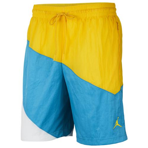 (取寄)ジョーダン メンズ ジャンプマン オール デイ ショーツ Jordan Men's Jumpman All Day Shorts Amarillo Laser Blue White