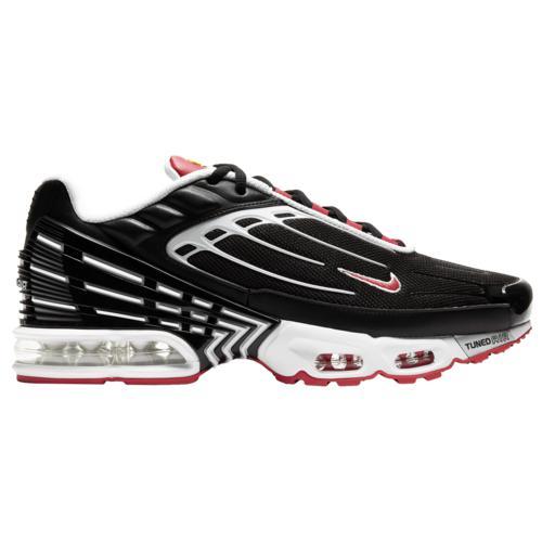 (取寄)ナイキ メンズ シューズ エア マックス プラス 3 Nike Men's Shoes Air Max Plus III Black White Red