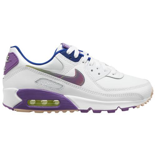 (取寄)ナイキ レディース シューズ エア マックス 90 Nike Women's Shoes Air Max 90 White Purple Nebula Barely Volt