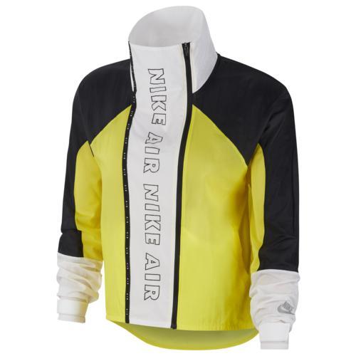 (取寄)ナイキ レディース エア ジャケット Nike Women's Air Jacket Yellow Black White Black