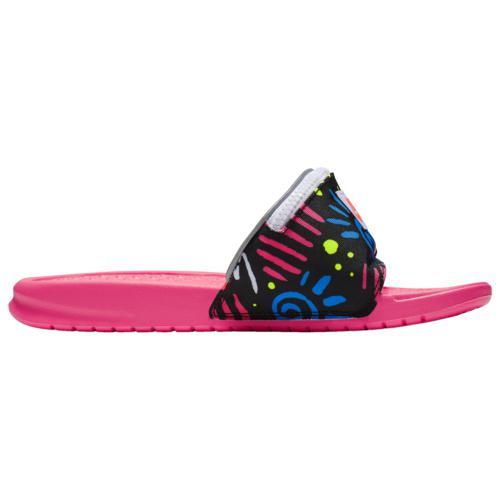(取寄)ナイキ メンズ シューズ ベナッシ JDI ファニー パック Nike Men's Shoes Benassi JDI Fanny Pack Pink Blue Volt