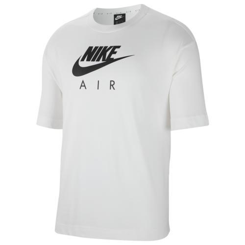 (取寄)ナイキ レディース ボーイフレンド エア ショート スリーブ Tシャツ Nike Women's Boyfriend Air Short Sleeve T-Shirt White