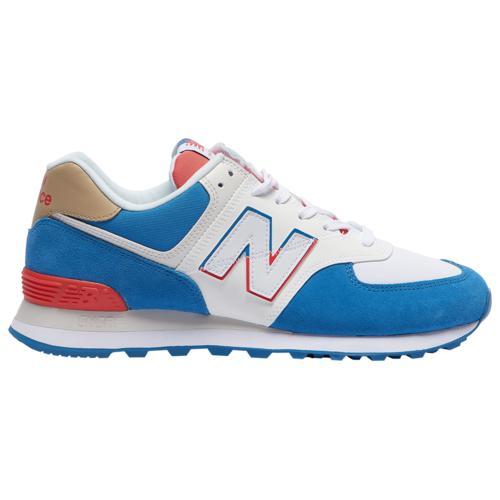 (取寄)ニューバランス メンズ シューズ 574 New Balance Men's Shoes 574 Mako Blue Toro Red