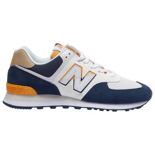 (取寄)ニューバランス メンズ シューズ 574 New Balance Men's Shoes 574 Natural Indigo Chromatic Yellow