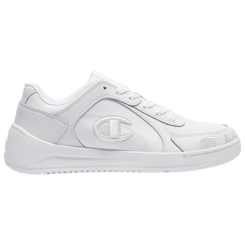 (取寄)チャンピオン メンズ シューズ スーパー コート ロー Champion Men's Shoes Super Court Low White White