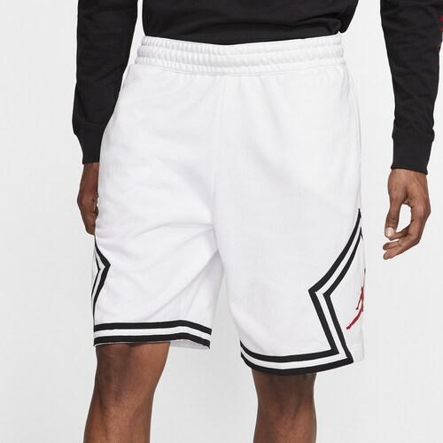 【クーポンで最大2000円OFF】(取寄)ジョーダン メンズ ジャンプマン フリース ダイアモンド ショーツ Jordan Men's Jumpman Fleece Diamond Shorts White Infrared 23