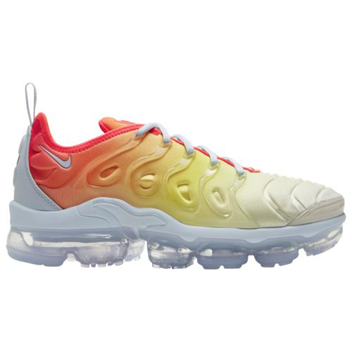 (取寄)ナイキ レディース シューズ エア ヴェイパーマックス プラス Nike Women's Shoes Air Vapormax Plus Hydrogen Blue Laser Crimson Opti Yellow