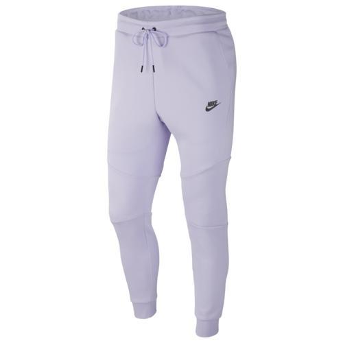 (取寄)ナイキ メンズ テック フリース ジョガー Nike Men's Tech Fleece Joggers Lavender Mist Black