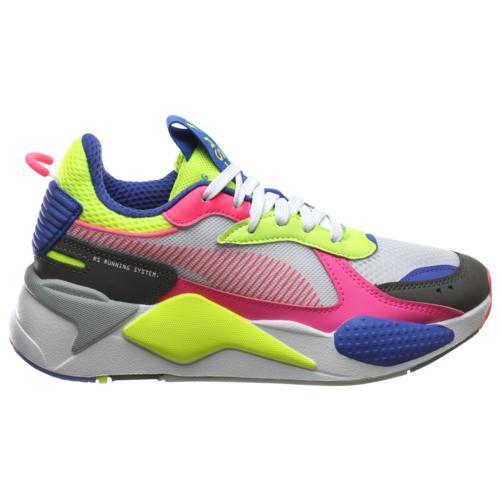 (取寄)プーマ レディース シューズ プーマ RS-X Women's Shoes PUMA RS-X White Fluo Pink Yellow Alert