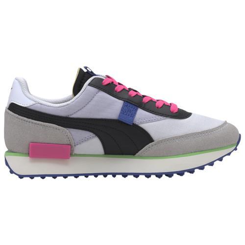 取寄 プーマ レディース シューズ プーマ フューチャー ライダーWomen's Shoes PUMA Future RiderWhite Gray Violet Blackc3jqLS45AR