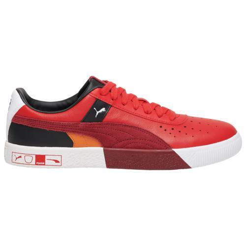 <title>puma プーマ シューズ ファッション ブランド クーポンで最大2000円OFF 取寄 メンズ クライド ハックト Perf トゥー Men's Shoes PUMA 販売実績No.1 Clyde Hacked Toe Red Black Multi</title>