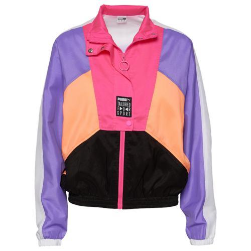 (取寄)プーマ レディース プーマ オリジナル レトロ ウィンド ジャケット Women's PUMA Original Retro Wind Jacket Purple Pink