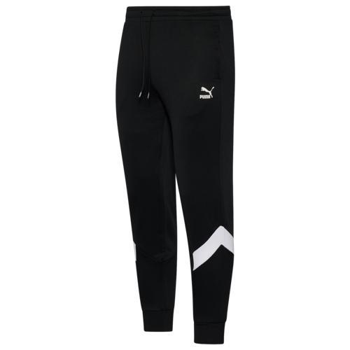 (取寄)プーマ メンズ プーマ アイコニック MCS トラック パンツ Men's PUMA Iconic MCS Track Pants Black