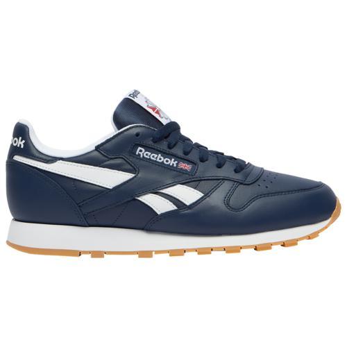 (取寄)リーボック メンズ シューズ クラシック レザー Reebok Men's Shoes Classic Leather Navy White Gum