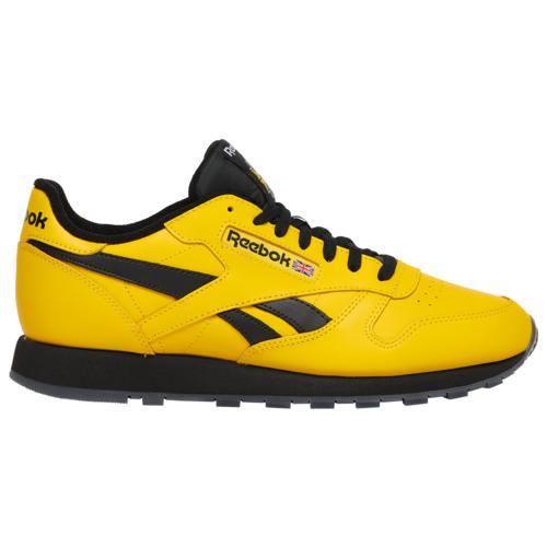 (取寄)リーボック メンズ シューズ クラシック レザー Reebok Men's Shoes Classic Leather Yellow Black