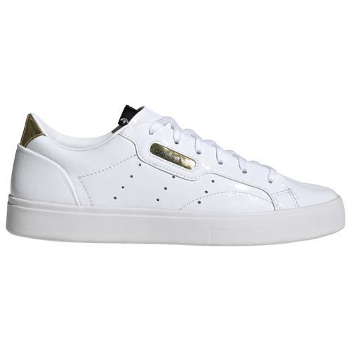 (取寄)アディダス レディース シューズ オリジナルス スリーク Women's Shoes adidas Originals Sleek White Black Crystal White