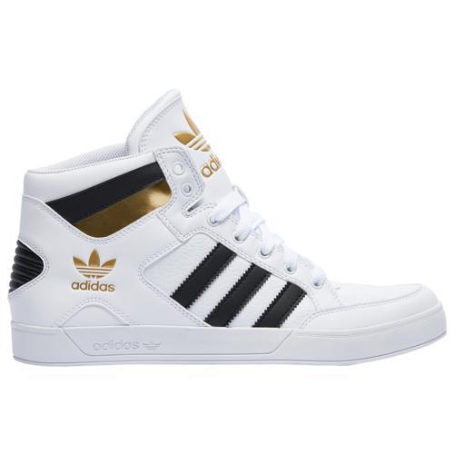 (取寄)アディダス メンズ シューズ オリジナルス ハードコート Men's Shoes adidas Originals Hardcourt White Black Gold Metallic